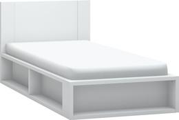 Łóżko 1-osobowe z podnoszonym stelażem