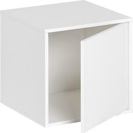 Средний ящик с дверями