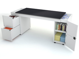 Innovative desk Transformers with black top