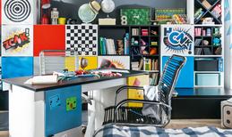 Новаторский письменный стол Transformers с черной столешницей