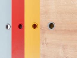 Дополнительные двери шкафчиков мебели Concept