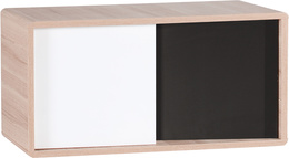 Top unit for 2-door wardrobe with drawer