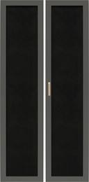 Ажурные двери для углового стеллажа
