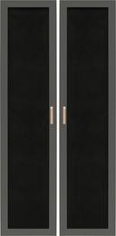 Drzwi ażurowe regału szerokiego