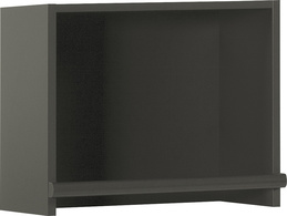 Top unit for narrow bookcase