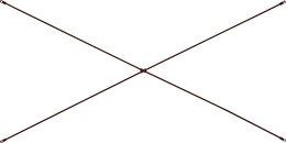 Stabilizing cross for single ladders