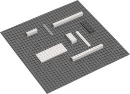Nakładka mała do kolcków Lego