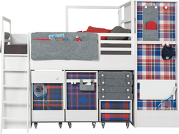 Nakładka Krata do kontenerków łóżka multi mała