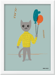 Painting Baby MR. KITTY - A. Dusza for Vox