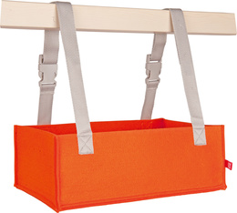 Orange horizontal organizer Ordo