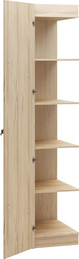 Side unit for 2-door wardrobe