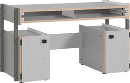 Письменный стол с контейнерами