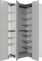 Side unit for wardrobe