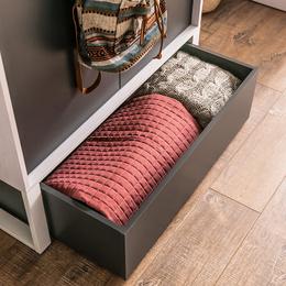 Drawer for 2-ddor wardrobe