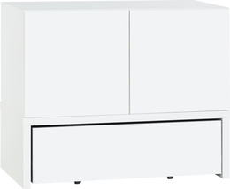2-door cabinet with base106x53 and drawer