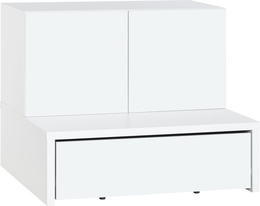 2-door cabinet with base 106x95 and drawer