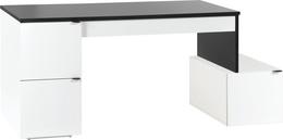 Desk 140L with storage unit