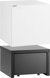 Cube cabinet with drawers and base 53x53 with drawer