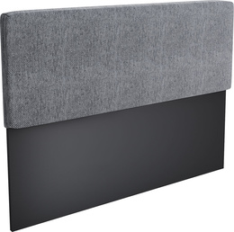 Upholstered headboard for couch