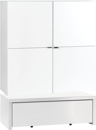 Wide chest of drawers with base 106x53 and drawer